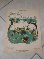 Jardin D'enfants, Petit Conte Maurice Thiriet -(Musique A. Nadine Lemoine)- Partition (Piano) 1948 - Volksmusik