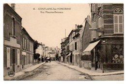 78 - Yvelines / CONFLANS -Ste- HONORINE -- Rue Maurice Berteaux. - Conflans Saint Honorine