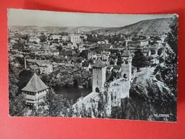 LOT  Cahors  Le Pont Valentré Et La Ville - Cahors