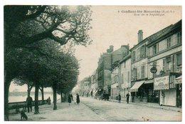 78 - Yvelines / CONFLANS -Ste- HONORINE -- Quai De La République. - Conflans Saint Honorine