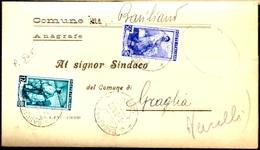PIEGO COMUNALE - FEBBRAIO 1953 - 1946-60: Storia Postale