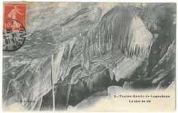 CPA TOULON - Grotte De Lagoubran - Le Ciel De Lit - Cliché R. Henry N°3 - Toulon