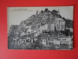 LOT  Rocamadour  La Ville Et Le Château - Rocamadour