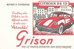 BU 1654 A /  BUVARD   GRISON    CITROEN D S 19 - Limpieza