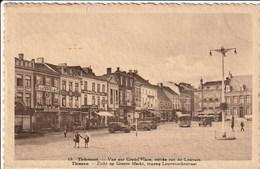 THIENEN (Tienen) - Zicht Op Groote Markt, Ingang Leuvenschestraat - Auto's -  Uitg. Librairie L. Piron - 1937 - Tienen