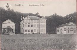 Marche-en-Famenne Le Chateau De Waha Kasteel Van 1913 (En Très Bon Etat) (In Zeer Goede Staat) Luxemburg Luxembourg - Marche-en-Famenne
