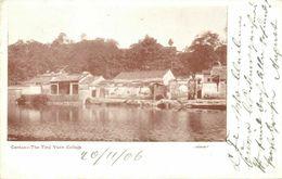 China, CANTON GUANGZHOU 廣州, The Ting Yuen College (1906) Postcard - China