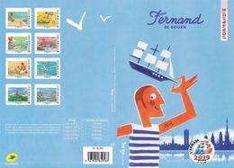 France 2019 Collector Fernand De Rouen 8v MNH / Neuf** - Unused Stamps