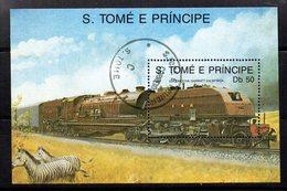 Hb-69A  Used  ST. Tome E Principè - Trenes