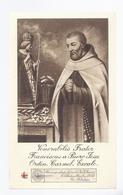 1926 RELIQUIA RELIC RELIQUARY RELIKWIE VENERABILIS FRATER FRANCISCUS A PUERO JESU ORDIN. CARMEL. EXCALC. - Religion & Esotérisme