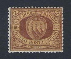 SAN MARINO 1892 STEMMA 2L Nº 21 - San Marino