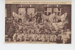 MAUBEUGE - Société JEAN MABUSE - Cortège Annuel Du Lundi De Pâques - Les Papillons D' ATH - Maubeuge