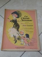 Nouveaux Morceaux De Salon-Wenn Die Fübchen Sie Heben -(Musique Opérette)- Partition (Piano) 1911la Chaste Suzanne - Opera