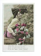 Jeune Femme Alsacienne 1909 - Frauen