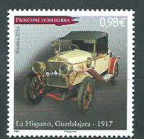 Año 2014 Nº 750 Automoviles Hispano Guadalajara - French Andorra