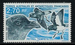 T.A.A.F. // 1997 // Timbre No.214 Y&T Neuf** MNH, Faune Antarctique - Neufs