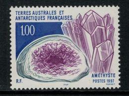 T.A.A.F. // 1997 // Timbre No.213 Y&T Neuf** MNH, Cristallisation Minérale - Neufs