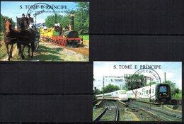 Hb-163AE/AF  Used  ST. Tome E Principè - Treni