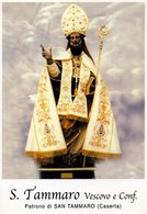 S. TAMMARO V. - PATRONO DI SAN TAMMARO (CE) - Mm.80 X 115 - SANTINO MODERNO - Religion & Esotérisme
