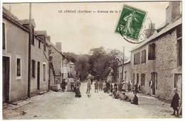 Correze LE LONZAC , Avenue De La Gare - Autres Communes