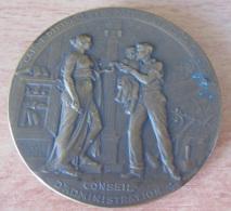 Médaille En Bronze : Caisse D'Epargne Et De Prévoyance De La Flèche / Conseil D'Administration - Attribuée - Professionnels / De Société