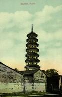 China, CANTON GUANGZHOU 廣州, Unknown Pagoda (1910s) Postcard - China