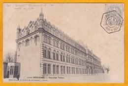 1902 - Carte Postale (tarif Imprimé) De Bordeaux Fondaudège A, Gironde Vers Constantinople, Turquie - 1 C Blanc - 1877-1920: Semi Modern Period