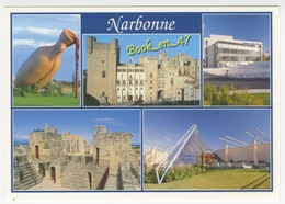 {81525} 11 Aude Narbonne , Multivues ; Divers Aspects - Narbonne