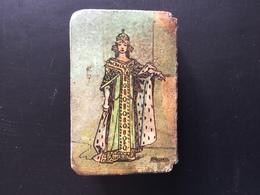 Boîte 50 Allumettes Cire Ancienne Illustrations Houbras Manufactures De L'état Numéro 11 15 Ces - Boites D'allumettes