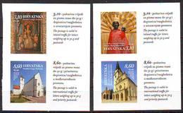 Croatia 2019 Croatien Marian Shrines (4) Selfklebend  From Booklet MNH - Croatie