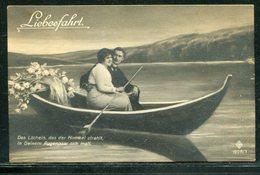 Liebesfahrt / Ca. 1911 / Paar Im Boot, Nostalgische AK (18019) - Paare