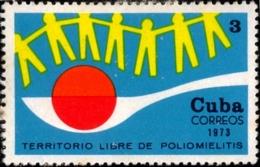 HEALTH- MEDICINE- POLIO DROPS- CUBA-1973- 1v- SCARCE- MNH- B9-777 - Medizin