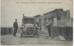 VERS SOISSONS, ROUTE DE PLESSIS-BRION - Guerre 1914-18
