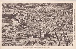 34----MONTPELLIER--vue Générale Du Nord-ouest--( Cliché De La Compagnie Aérienne Française )--voir 2 Scans - Montpellier