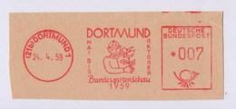 BRD AFS - DORTMUND, Bundesgartenschau Dortmund 1959 - Végétaux