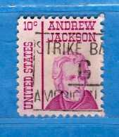 (Us2) USA °-1967-68 - Américains Célèbres- ANDREW JACKSON.  Yvert . 819  .  USED.  Vedi Descrizione - Stati Uniti