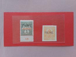 TERRE REDENTE 1918 - FIUME - Giornali Nn. 1/2 Nuovi ** + Spese Postali - Fiume