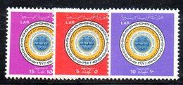 APR468 - LIBIA LYBIA 1971 , Serie Yvert  N. 410/412 *** (2380A)  Upu - Libia