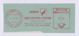 BRD AFS - DÜSSELDORF HOLTHAUSEN, Spedition SIEGMUND & FUCHS 1960 - Verkehr & Transport