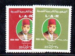 APR464 - LIBIA LYBIA 1972 , Serie Yvert  N. 419/420 *** (2380A)  Gnaba - Libia