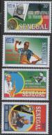 Sénégal 1999 Année Internationale Des Personnes âgées Senioren Seniors Mi. 1793 - 1796 4 Val. RARE MNH - Senegal (1960-...)
