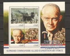 Guyana - MNH Sheet Dwight Eisenhower - 2. Weltkrieg