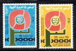 APR892 - LIBIA LYBIA 1972 , Serie Yvert  N. 427/428 *** (2380A) - Libia
