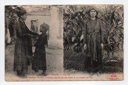 - CPA TONKIN (Viêt-Nam) - Yen-Thé - La Nommée Thi Nho, Troisième Femme Du Dé-Tham Et Sa Fillette Thi Thè - - Viêt-Nam