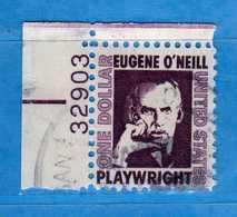 (Us2) USA °-1967-68 - Américains Célèbres- Eugène O'Neill.  Yvert . 825.   .  USED.  Vedi Descrizione - Stati Uniti