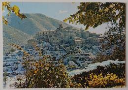 SCANNO (L'Aquila) - PANORAMA INVERNALE - Prima Neve - Vg - L'Aquila
