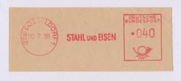 BRD AFS - DÜSSELDORF, STAHL Und EISEN 1959 - Fabrieken En Industrieën
