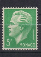 Monaco 1950/51 Yvert 349 Neuf* (trace De Charnière) (155) - Unused Stamps