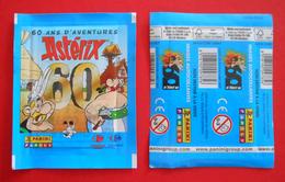 Vingt Pochettes Panini Neuves - Astérix - 60 Ans D'aventures - Panini