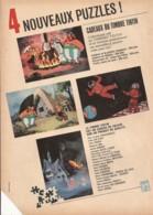 4 Nouveaux Puzzles (cadeaux Du Timbre Tintin) / Loisirs - Jeux) - Advertising
